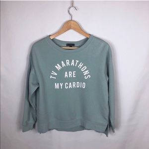 FIFTH SUN Urban Outfitters text SWEATSHIRT